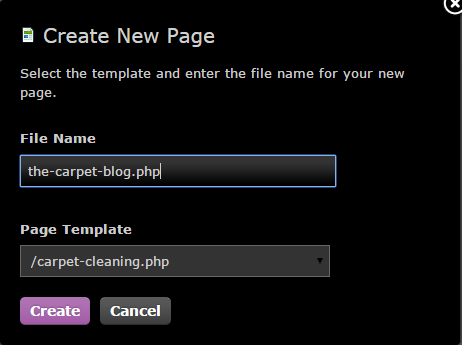 Creating a Blog Step 6