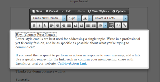 Dynamic Content Step 5